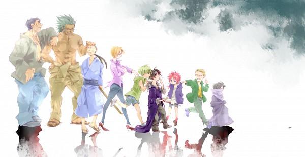 Tags: Anime, Pixiv Id 528123, Hunter x Hunter, Pakunoda, Machi Komacine, Hisoka, Nobunaga Hazama, Feitan Portor, Bonolenov Ndongo, Kortopi, Chrollo Lucifer, Uvogin, Franklin