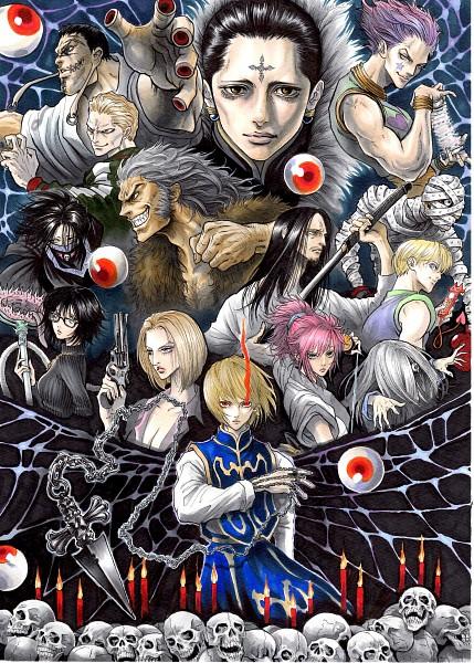 Tags: Anime, Pixiv Id 4873996, Hunter x Hunter, Hisoka, Kortopi, Feitan Portor, Uvogin, Franklin, Chrollo Lucifer, Murasaki Shizuku, Kurapika, Phinks Magcub, Shalnark