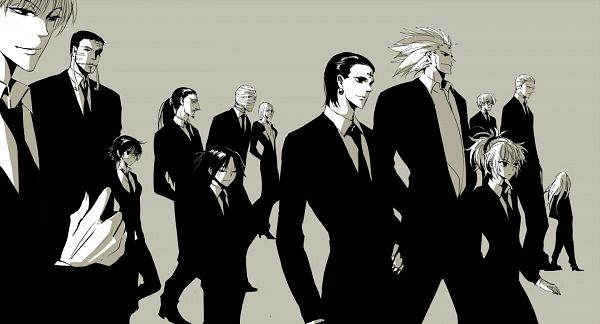 Tags: Anime, Apol, Hunter x Hunter, Kortopi, Chrollo Lucifer, Uvogin, Franklin, Murasaki Shizuku, Phinks Magcub, Hisoka, Shalnark, Pakunoda, Machi Komacine