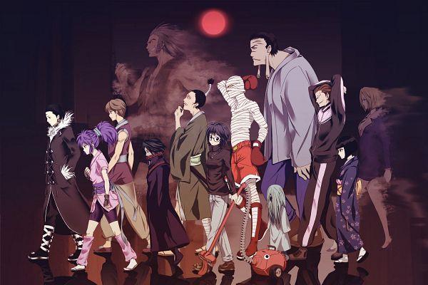 Tags: Anime, Infinote, Hunter x Hunter, Feitan Portor, Bonolenov Ndongo, Kortopi, Kalluto Zoldyck, Uvogin, Franklin, Murasaki Shizuku, Phinks Magcub, Chrollo Lucifer, Shalnark