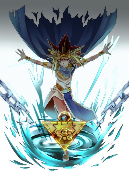 Tags: Anime, Pixiv Id 121476, Yu-Gi-Oh!, Yu-Gi-Oh! Duel Monsters, Pharaoh Atem, Yami Yugi, Egyptian Clothes, Mobile Wallpaper, Pixiv, Fanart, Wallpaper, Fanart From Pixiv