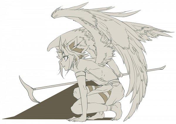 Tags: Anime, Yu-Gi-Oh!, Yu-Gi-Oh! Duel Monsters, Yami Yugi, Pharaoh Atem, Twitter, Fanart