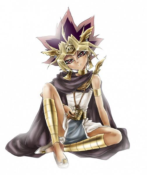 Tags: Anime, Noritamako, Yu-Gi-Oh!, Yu-Gi-Oh! Duel Monsters, Pharaoh Atem, Yami Yugi, Puzzle Piece, Gold (Metal), Egyptian Clothes, Fanart, Pixiv, Fanart From Pixiv