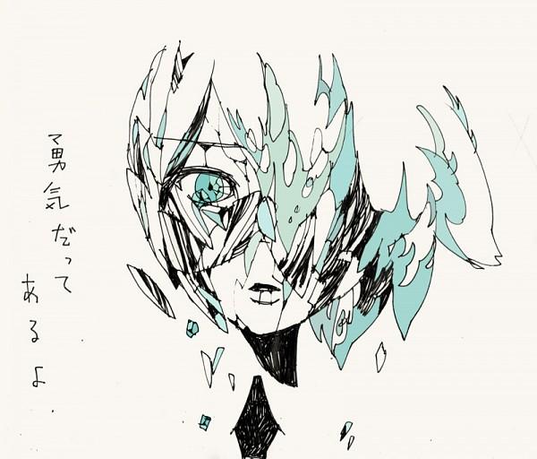 Tags: Anime, Pixiv Id 598083, Houseki no Kuni, Phosphophyllite (Houseki no Kuni), Broken Glass, Cracks, Fanart From Pixiv, Pixiv, Fanart