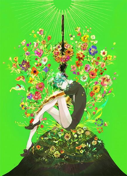 Tags: Anime, Pixiv Id 743648, Houseki no Kuni, Phosphophyllite (Houseki no Kuni), Fanart, Fanart From Pixiv, Mobile Wallpaper, Pixiv