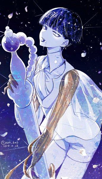 Tags: Anime, Pixiv Id 1120945, Houseki no Kuni, Phosphophyllite (Houseki no Kuni), Gold (Metal), Twitter, Fanart