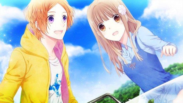 Tags: Anime, Mizuguchi Too, honeybee, Photograph Journey, Hasui Yaichi, Hayama Haruho, CG Art, Official Art