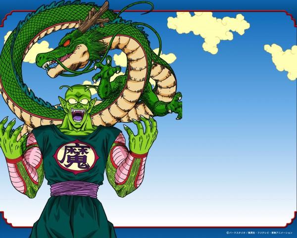 Tags: Anime, DRAGON BALL, Shenron, Piccolo, Alien Antenna, Namekian