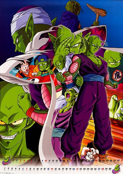 Tags: Anime, DRAGON BALL, DRAGON BALL Z, Piccolo, Son Goku (DRAGON BALL), Alien Antenna, Namekian