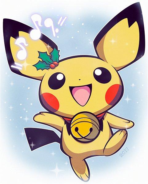 Tags: Anime, Woofzilla, Pokémon, Pichu, Fanart, Self Made, Pixiv, Fanart From Pixiv