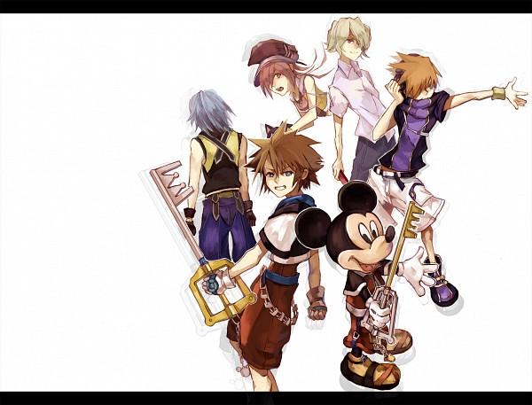 Tags: Anime, Piece5, SQUARE ENIX, Subarashiki Kono Sekai, Kingdom Hearts, Yoshiya Kiryu, Shiki Misaki, Neku Sakuraba, Mickey Mouse, Sora (Kingdom Hearts), Kairi (Kingdom Hearts), Riku (Kingdom Hearts), Disney