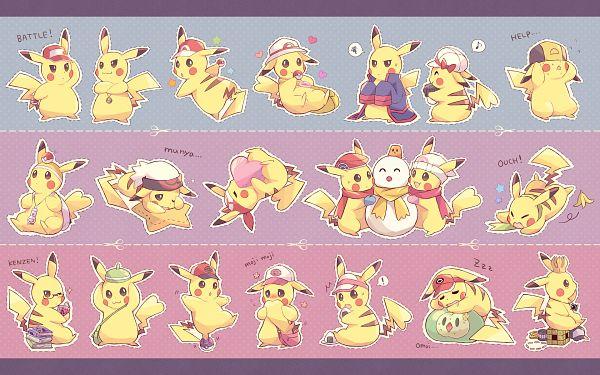 Tags: Anime, Kabocha Torute, Pokémon, Pikachu, Cheren (Pokémon) (Cosplay), Hikari (Pokémon) (Cosplay), Haruka (Pokémon) (Cosplay), Kotone (Pokémon) (Cosplay), Leaf (Pokémon) (Cosplay), Touya (Pokémon) (Cosplay), Kyouhei (Cosplay), Satoshi (Pokémon) (Cosplay), Yuuki (Pokémon) (Cosplay)