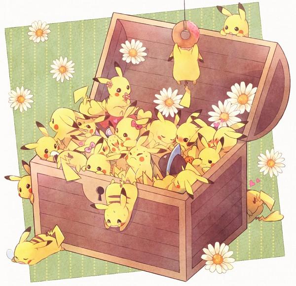 Tags: Anime, Kabocha Torute, Pokémon, Pikachu, Pixiv, Revision, Fanart From Pixiv, Fanart