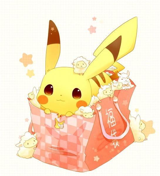 Tags: Anime, ushiinu, Pokémon, Pikachu, PNG Conversion, Pixiv, Happy 2015, Fanart From Pixiv, Fanart