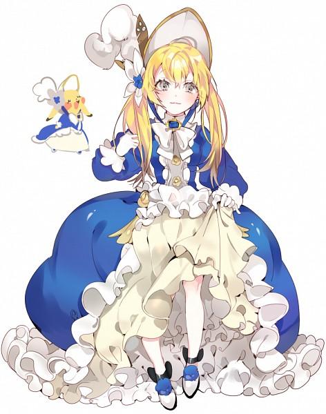 Tags: Anime, Piyo (ppotatto), Pokémon, Pikachu, Poke Bonnet, Pixiv, Fanart From Pixiv, Fanart, PNG Conversion