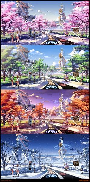 Tags: Anime, Pinax, Four Seasons, deviantART