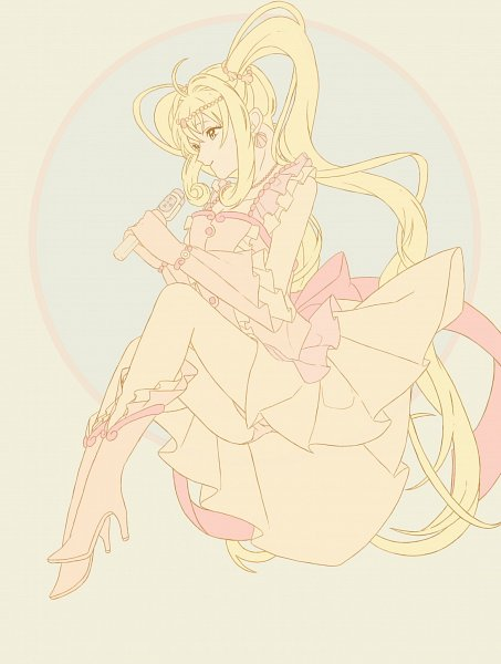 Tags: Anime, Pixiv Id 6618114, Mermaid Melody Pichi Pichi Pitch, Nanami Lucia, Pink Pearl Voice, Pink Handwear, Pink Gloves, Fanart, Fanart From Pixiv, Pixiv