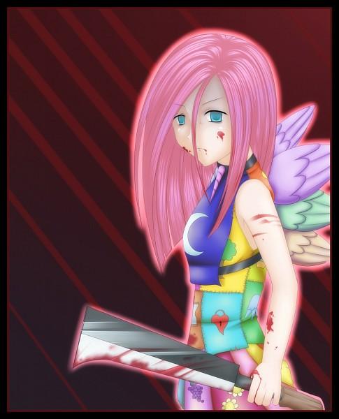 Tags: Anime, Cruxisma, My Little Pony, Pinkie Pie, Pinkamena Diane Pie, Fanart, Fanart From DeviantART, deviantART