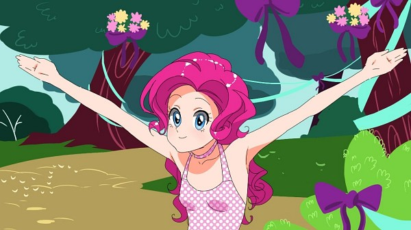 Tags: Anime, Aconitea, My Little Pony, Pinkie Pie, Fanart