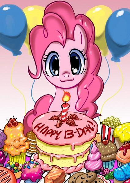 Tags: Anime, John Joseco, My Little Pony, Pinkie Pie, Muffin, Party, Popcorn, deviantART, Fanart, Fanart From DeviantART