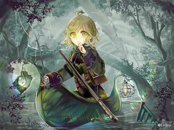 Tags: Anime, Pixiv Id 9896176, SINoALICE, Pinocchio (SINoALICE), Fishing Rod, 2000x1500 Wallpaper, Fanny Pack, Fishing, Fanart, Pixiv, Wallpaper, Fanart From Pixiv