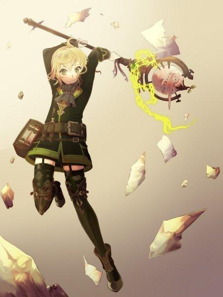Tags: Anime, Nullset, SINoALICE, Pinocchio (SINoALICE), Glowing Weapons, Pixiv, Fanart, Fanart From Pixiv