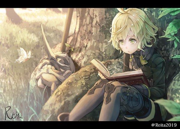 Tags: Anime, Hoshizaki Reita, SINoALICE, Pinocchio (SINoALICE), Fanart From Pixiv, Pixiv, Fanart
