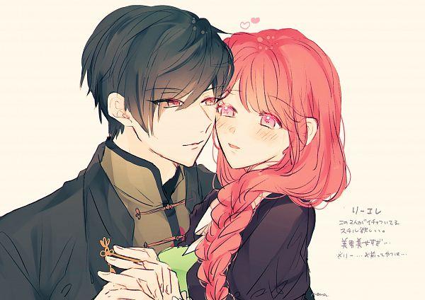 Tags: Anime, Kazu7, Piofiore no Bansho, Hsi-Shan Lee, Elena Croce, Twitter, Fanart