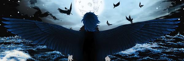 Tags: Anime, Pipevine, Waves, deviantART, Original, Twitter Header