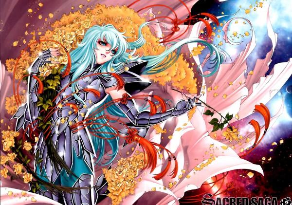 Tags: Anime, Future Studio, Saint Seiya, Sacred Saga, Pisces Aphrodite, Gold Saints