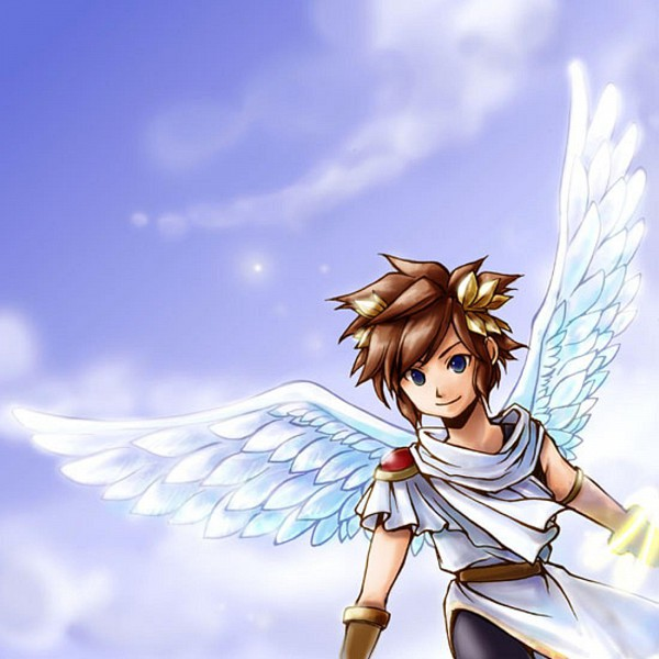 Tags: Anime, Kid Icarus, Pit, Toga, Artist Request