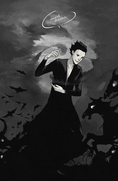 Tags: Anime, Lanimalu, Rise of the Guardians, Pitch Black, Fanart, Mobile Wallpaper