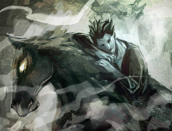 Tags: Anime, Mak Kainemaru, Rise of the Guardians, Pitch Black, Fanart, Fanart From Pixiv, Pixiv