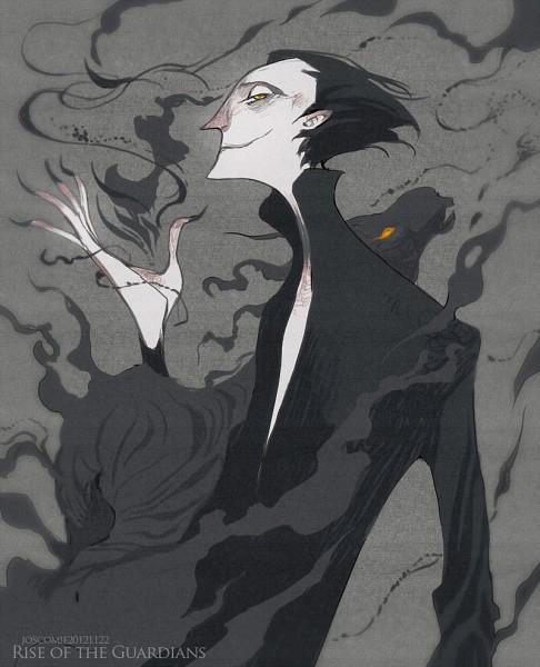 Tags: Anime, Josco, Rise of the Guardians, Pitch Black, Fanart, Fanart From Pixiv, Pixiv