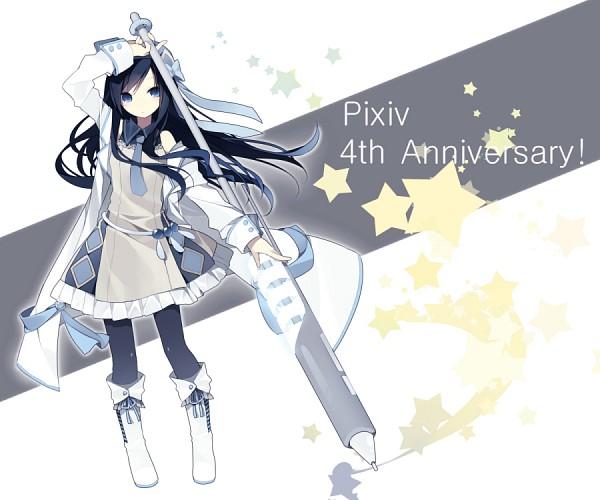 Tags: Anime, Hijiri, Pixiv-tan, Text: Pixiv, Pixiv