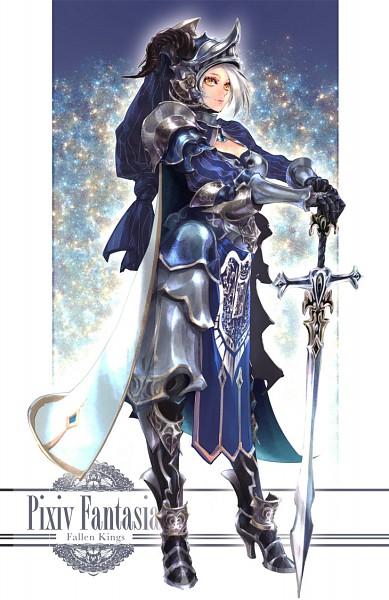 Tags: Anime, Pixiv Id 3645796, Silvia, Pixiv, Mobile Wallpaper, Pixiv Fantasia: Fallen Kings