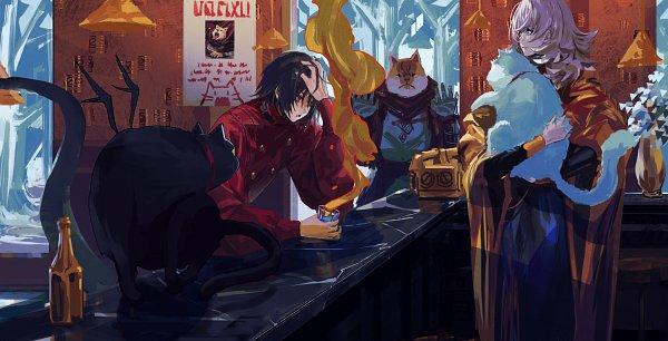 Tags: Anime, Zhouran, Cheng Shou, Peyote (Pixiv Fantasia), Nuvola, Pixiv, Pixiv Fantasia, Pixiv Fantasia: Last Saga, Pixiv Fantasia Series