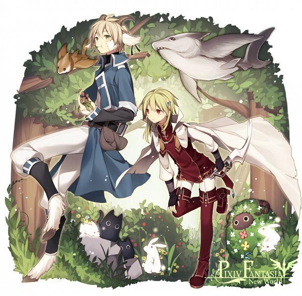 Tags: Anime, Hijiri, Trance (PFNW), Pixiv, Pixiv Fantasia Series, Pixiv Fantasia: New World