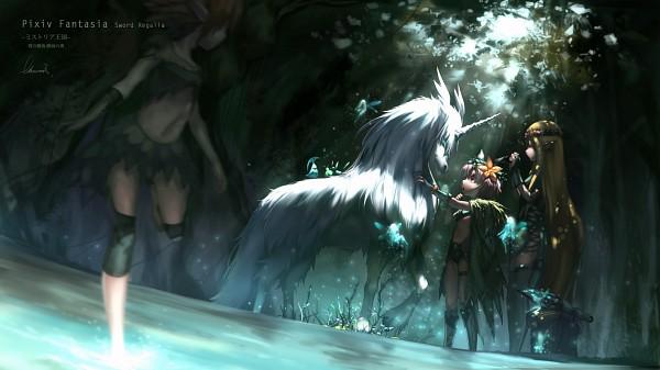 Tags: Anime, Babycat, Facebook Cover, Pixiv Fantasia: Sword Regalia, Pixiv, Pixiv Fantasia