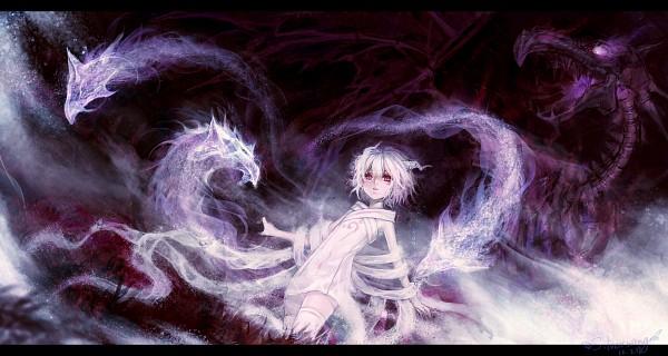 Tags: Anime, Silverwing, Facebook Cover, Pixiv, Original, Pixiv Fantasia