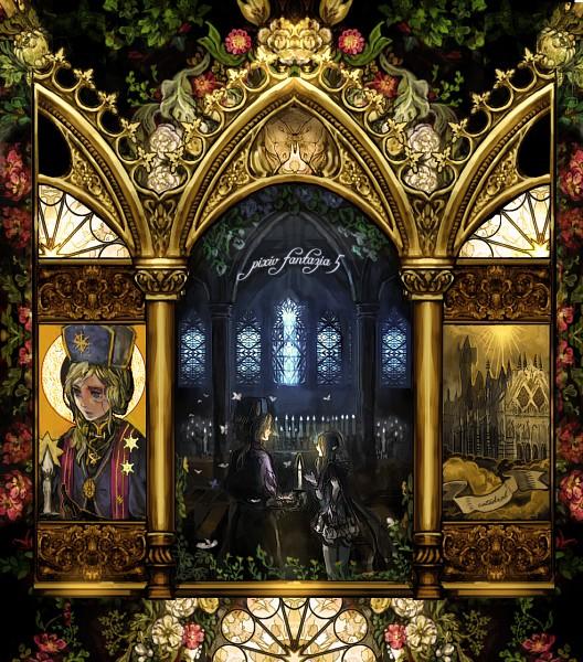 Tags: Anime, Chibi (Shimon), Detailed, Clergy, Pixiv Fantasia, Pixiv, Original