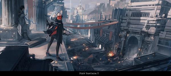 Tags: Anime, Renatus-z, Archer Natus, Pixiv Fantasia T, Pixiv Fantasia, Facebook Cover