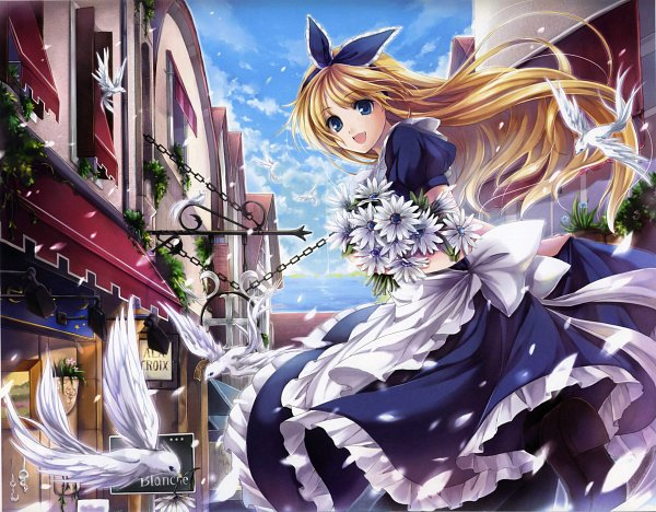 Tags: Anime, Hagiwara Rin, Pixiv Girls Collection 2010, Pixiv Girls Collection, Alice (Alice in Wonderland), Scan, Pixiv, Original, Self Scanned