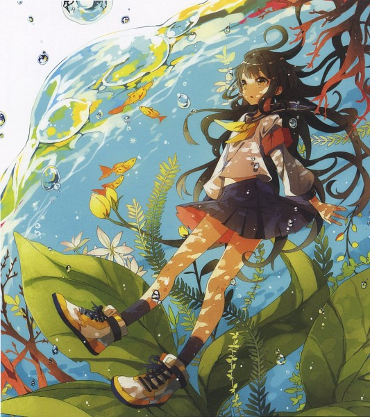 Tags: Anime, Nicocco, Pixiv Girls Collection, Pixiv Girls Collection 2012, Seaweed, Scan