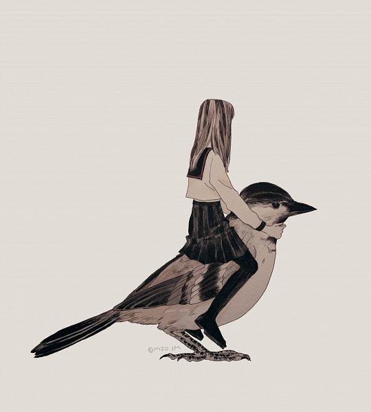 Tags: Anime, Pixiv Id 10226946, Sparrow, Pixiv