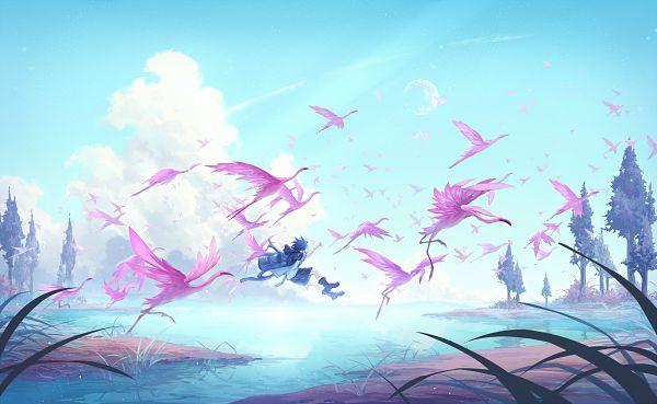 Tags: Anime, Pixiv Id 10489689, Flamingo, Pixiv, Original