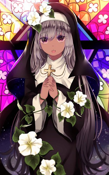 Tags: Anime, Pixiv Id 11493783, Stained Glass, Original