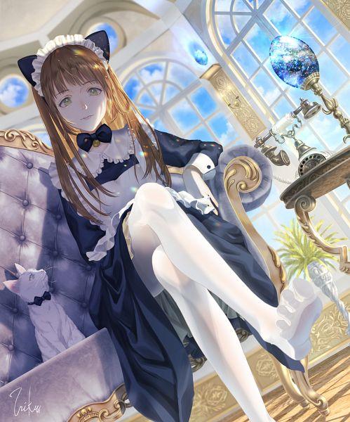 Tags: Anime, Pixiv Id 11600530, White Cat, Pixiv, Original