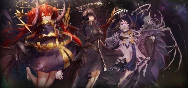 Tags: Anime, Pixiv Id 1193139, Dragon Wings, Bone Wings, PNG Conversion, Pixiv, Original
