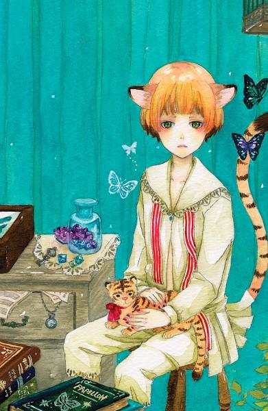 Tags: Anime, Pixiv Id 1213775, Pocket Watch, Dresser, Watercolor, Traditional Media, Pixiv, Original